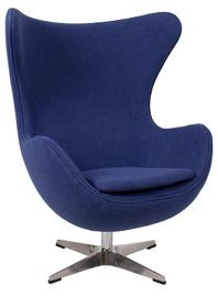 Кресло Home4you Grand Star Blue, 87x78x104 см