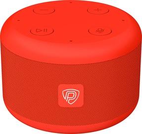 Bezvadu skaļrunis Prestigio SmartVoice, sarkana, 3 W