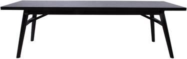 Скамейка Home4you Odense 18126, черный, 150 см x 40 см x 45 см