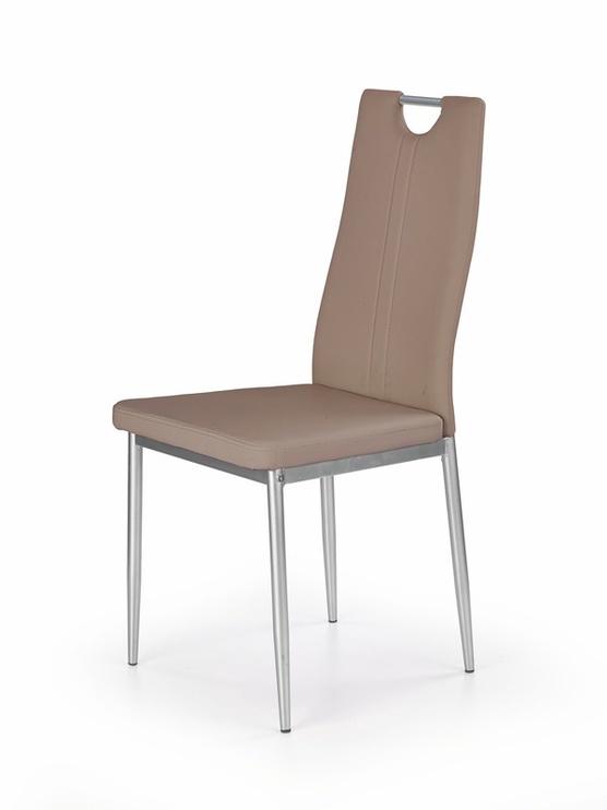 Ēdamistabas krēsls Halmar K202, brūna