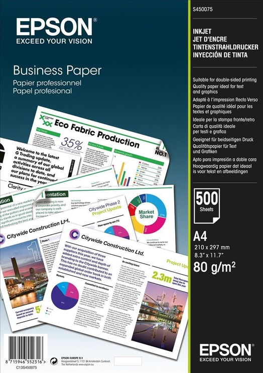 Epson Business 500 A4 Paper