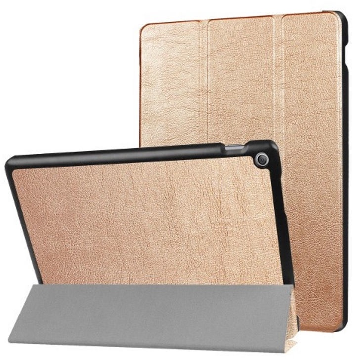 TakeMe Eco-leather Book Case For Asus Zenpad 10'' Z301MFL/Z301ML Gold