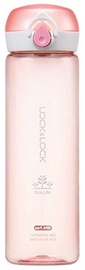 Lock & Lock ABF645 One Touch Bottle 550ml Pink