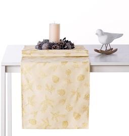 AmeliaHome Magic Night AH/HMD Tablecloth Gold 40x120cm