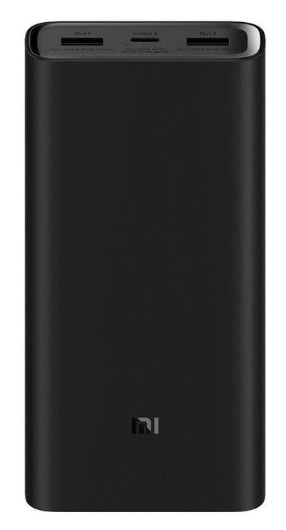 Ārējs akumulators Xiaomi Mi 3 Pro Black, 20000 mAh