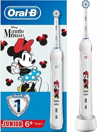 Braun Oral-B Junior Minnie Mouse Electric Toothbrush White