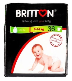 Britton Extra Dry Diapers L 36pcs
