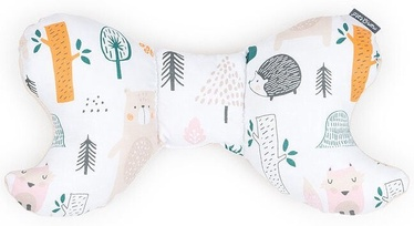 MamoTato Butterfly Pillow Forest Cream