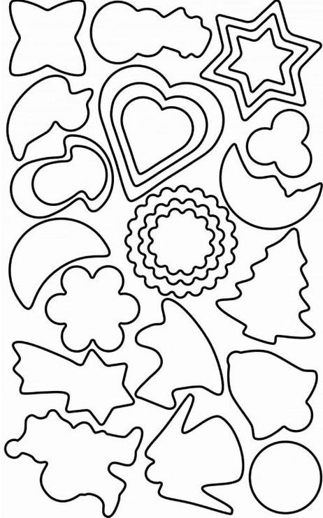 Kaiser Gingerbread Form 25PCS Blister Pack
