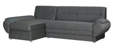 Stūra dīvāns Bodzio Livonia Gray, kreisais, 248 x 155 x 89 cm