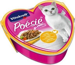 Влажный корм для кошек Vitakraft Poesie Sauce, консервы, 0.085 кг