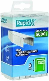 Rapid Flatwire 140/8mm Green Staples 5000pcs