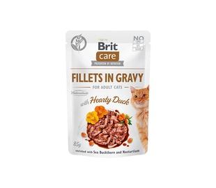 Konservi CATS BRIT CARE HEARTY DUCK 85 G