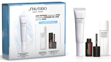 Shiseido Essential Energy Eye Definer 15ml + 30ml Instant Eye And Lip Makeup Remover + 4ml ControlledChaos MascaraInk 01