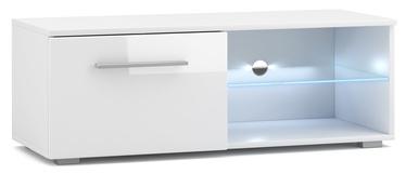 ТВ стол Vivaldi Meble Moon 2 White/White Gloss, 1000x400x360 мм