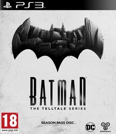 Batman: The Telltale Series Season Pass Disc PS3