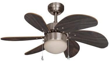 Lampa ar ventilatoru T30-BC-R6W1CLIP, E14, 1x60W