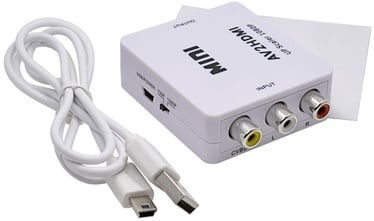 RoGer Adapter RCA to HDMI White