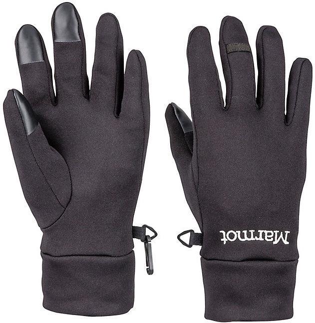 Перчатки Marmot Power Stretch Connect, черный, S