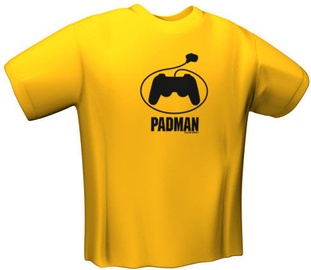 GamersWear PadMan T-Shirt Yellow S