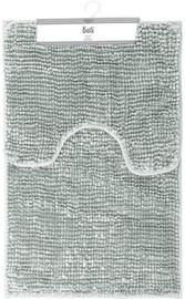 Коврик для ванной AmeliaHome Bati Bathmat Set 50x80/40x50 Grey