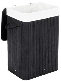 Ящик для белья Songmics Cloth Basket 40x30x60cm Black