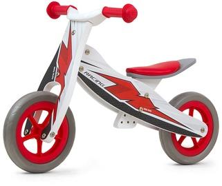 Līdzsvara velosipēds Milly Mally Look Ride On 2in1 Red