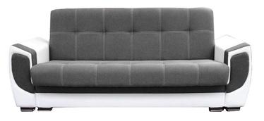 Диван-кровать Idzczak Meble Delux White/Grey, 237 x 93 x 95 см