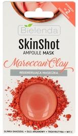 Маска для лица Bielenda Skin Shot Mask Moroccan Clay, 8 г