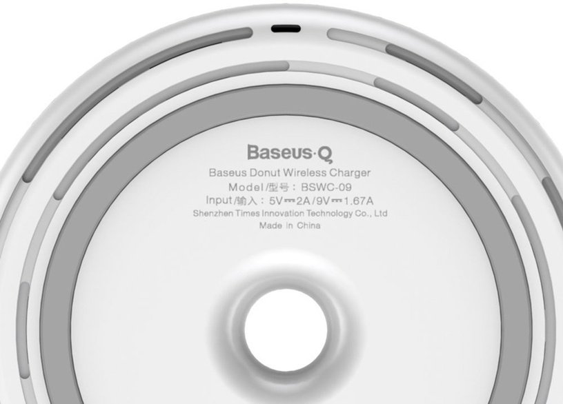Baseus Donut Wireless Charger White