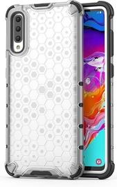 Hurtel Honeycomb Armor Back Case For Samsung Galaxy A70 Transparent
