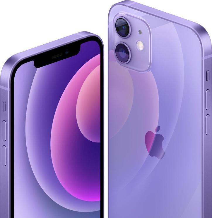 Mobilais telefons Apple iPhone 12, violeta, 4GB/64GB