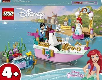 Конструктор LEGO Disney Princess Праздничный корабль Ариэль 43191, 114 шт.