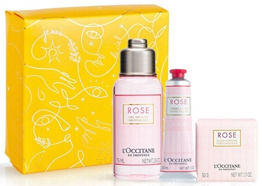 L´Occitane Rose 3pcs Set 155ml