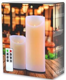 DecoKing Dripwax LED Candle Set 2pcs