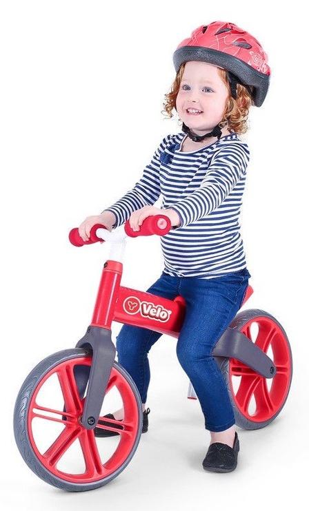 Балансирующий велосипед Yvolution YVelo Senior Red 101051