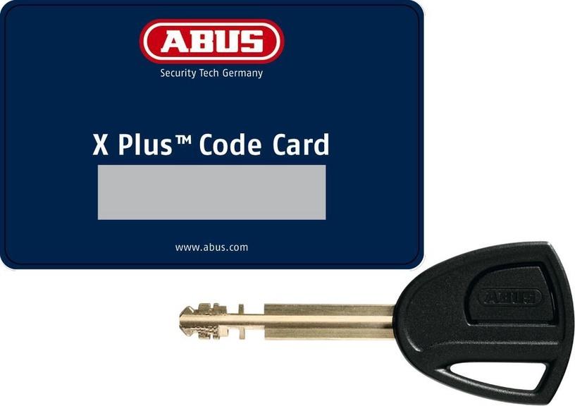 Abus Bordo Granit XPlus 6500/110 Folding Lock Black