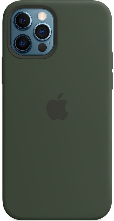 Apple iPhone 12/12 Pro Silicone Case with MagSafe Cyprus Green
