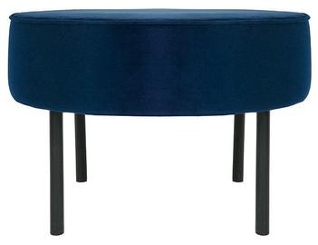 Pufs Black Red White Lafu H Blue, 60x60x40 cm