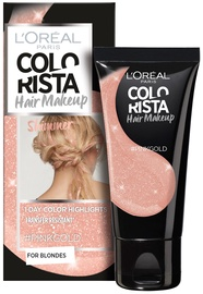 L´Oreal Paris Colorista Hair Makeup Shimmer Pink Gold