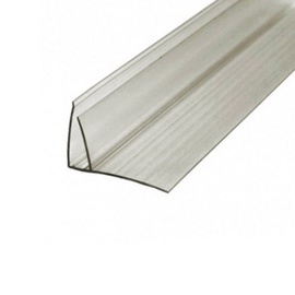 Polycarbonate profile 4-6 x 2100 f