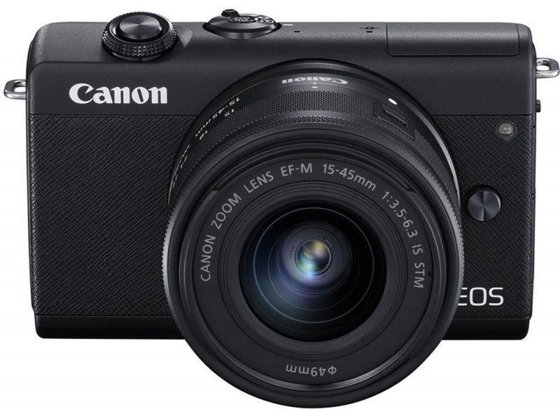 Canon EOS M200 + EF-M 15-45mm IS STM Black