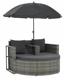 Садовый диван VLX 44478, серый