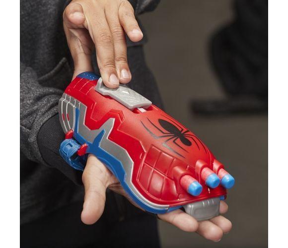 Игрушечное оружие Hasbro Marvel Avengers Nerf Power Moves Spider-Man Blaster E7328