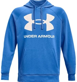 Under Armour Men's Rival Fleece Big Logo Hoodie 1357093 787 Blue M