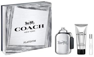 Coach Platinum 100ml EDP + 100ml Shower Gel + 7.5ml EDP
