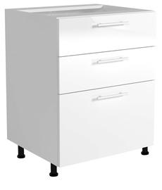Apakšējais virtuves skapītis Halmar Vento D3S-80/82 White