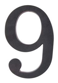 Номер Barcz 9, 175 мм, черный
