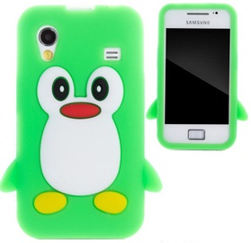 Zooky Soft 3D Cover Samsung S5830 Galaxy Ace Penguin Green