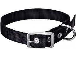 Kaklasiksna Chaba Lux Dog Collar 50x2cm Black